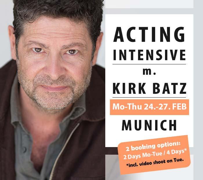 Kirk Baltz Acting Workshop