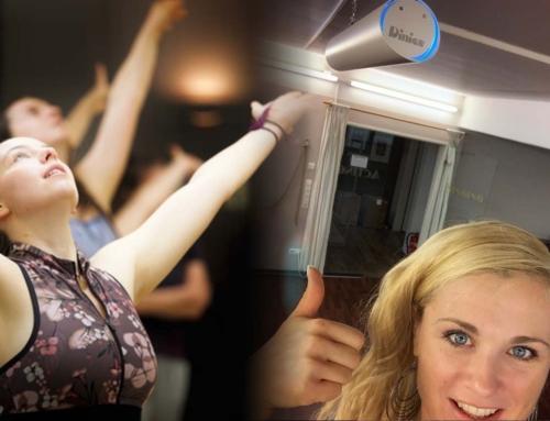 Saubere Luft im Studio, dank high-tech. UVC Filter