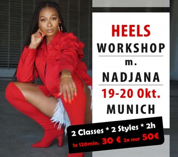 Dance in Heels Workshop Munich