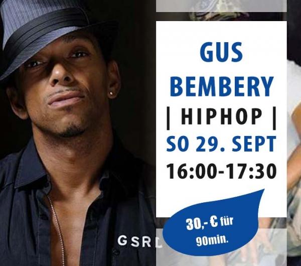 Gus Bembery HipHop Workshop