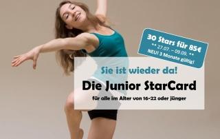 JuniorCard Aktion für alle bis 22 Jährigen