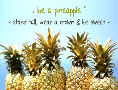 """be a pineapple"" – Limited Edition 2018"
