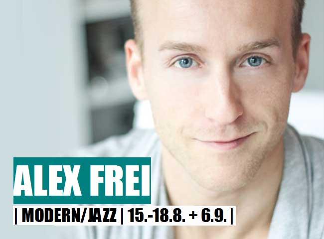 Modern Jazz Dance vertretung mit Alex Frei