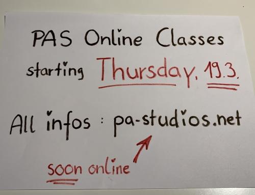 Unsere Online Classes starten Donnerstag, 19. März !