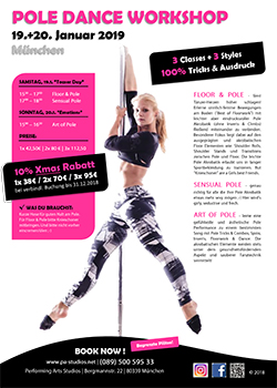 Pole Dance Workshop