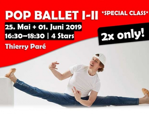 POP BALLET I-II mit Thierry Paré ** 2x only Special Open Class **