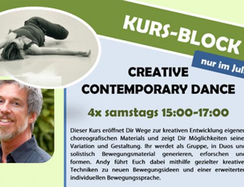 Creative Contemporary Dance Kursblock