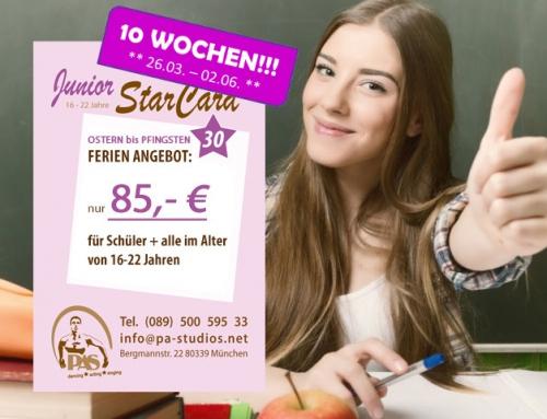 Ostern bis Pfingsten! Aktion für alle 16-22 Jährigen