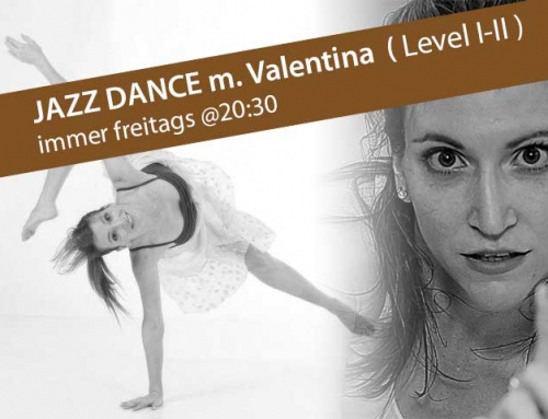 Jazz Level I-II ab November freitags @20:30