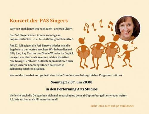 Konzert der PAS Singers