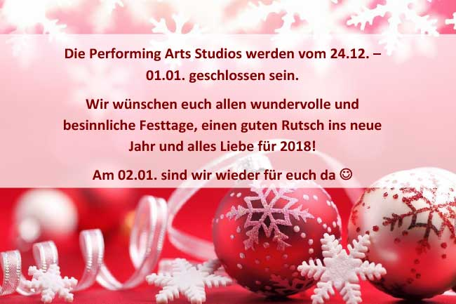 frohe weihnachten einen guten rutsch performing arts. Black Bedroom Furniture Sets. Home Design Ideas